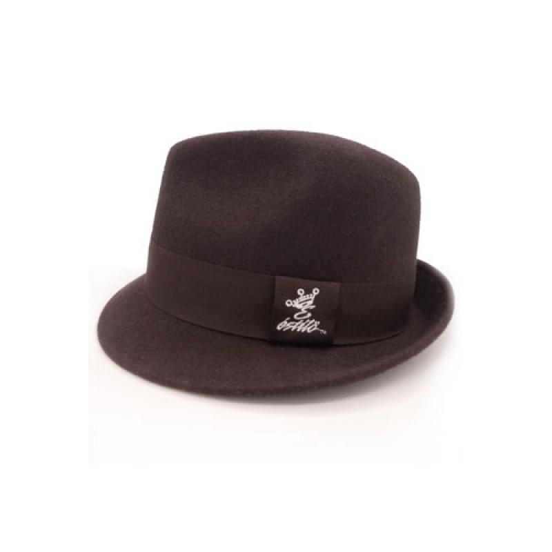 e7974ff38 Estilo Clothing™ Chocolate Wool Fedora Hat