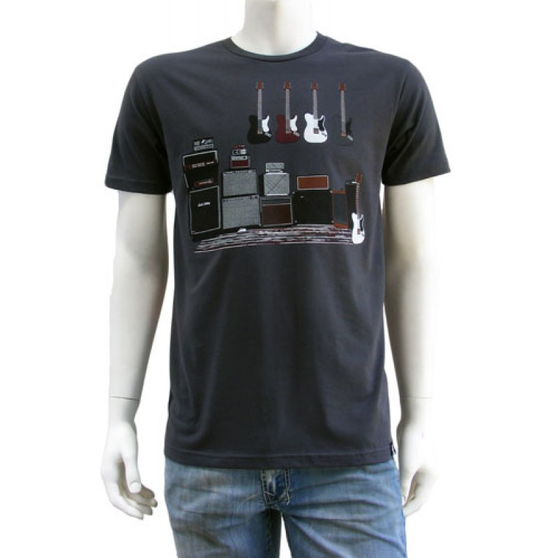 Estilo Clothing Amped Up Electric Guitar Amp Amp T Shirt